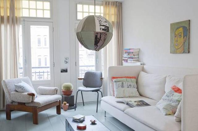 En Amsterdam: La vivienda low cost de dos creativos
