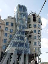 Prague Dancing House Building