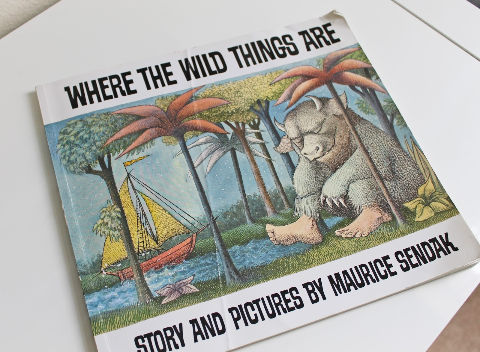 Where The Wild Things Are Book Cover Back When i think back to myWhere The Wild Things Are Book Cover