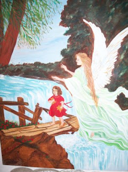 Νότα Κυμοθόη Το Ιερό Ποτάμι Ποίηση κι Ελαιογραφία σε μουσαμά