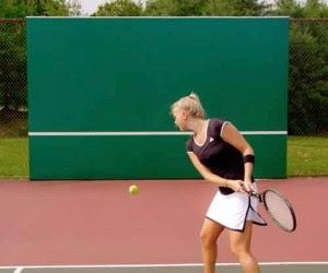 Tenis Antrenmanı Duvar