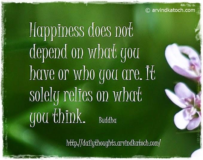 Happiness, Buddha, Daily Thought, Buddha Quote