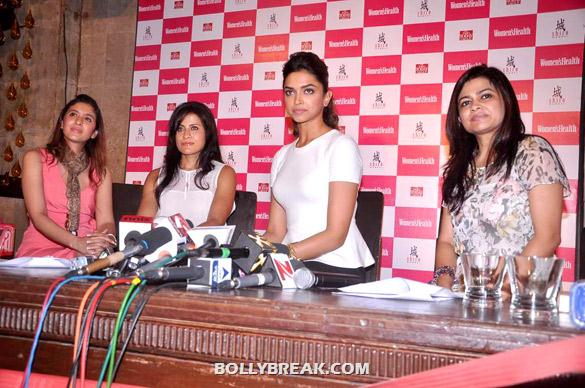 Deepika Padukone - (2) - Deepika launches double issue of Women's Health