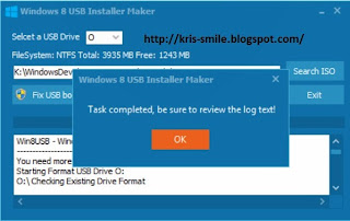 Cara Install Ulang Windows 8 (ISO File) Dengan Flashdisk OM Kris Blog
