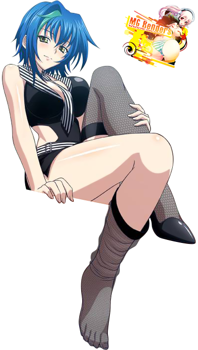 Tags: Anime, Render,  Feet,  High School DxD, ハイスクールD×D, Haisukūru D×D,  Xenovia Quarta, PNG, Image, Picture