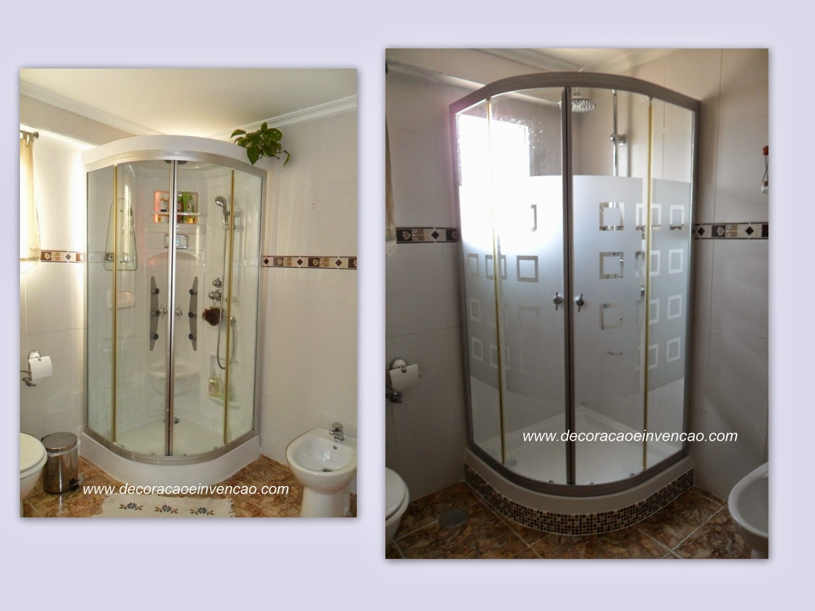 decoracao reforma banheiro:banheiro ficou claríssimo a cabine  #3C3024 1600x1200 Azulejo Listrado Banheiro