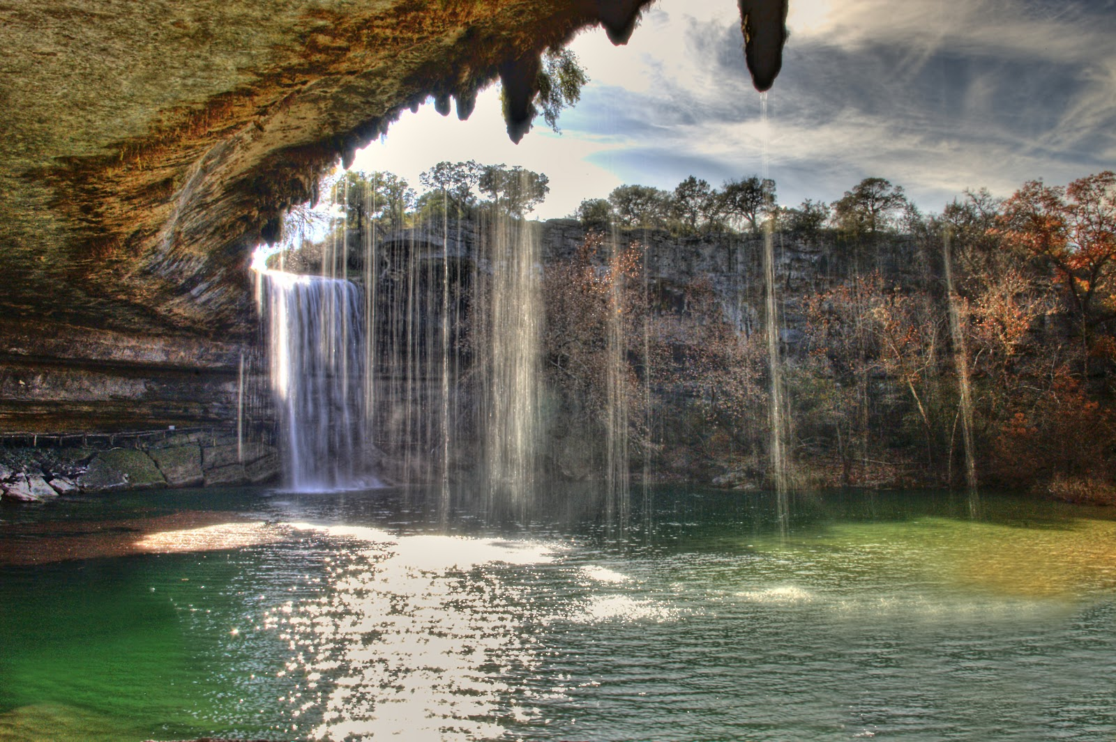 Travel Trip Journey Hamilton Pool Natural Preserve Austin Texas