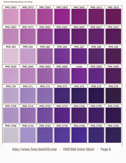 Never A Dull Moment 50 Shades Of Purple A Tutorial On