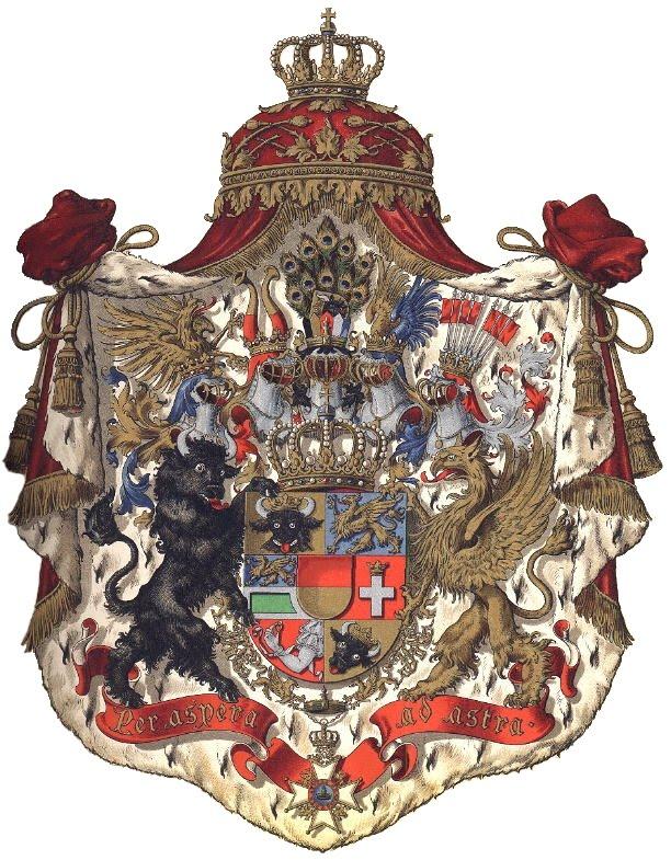 Großherzogliches Wappen Mecklenburg
