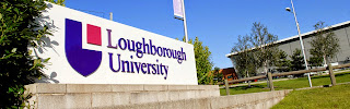 sign outside Loughborough University