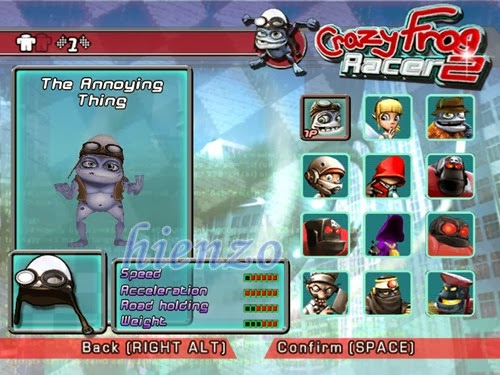 Crazy Frog Racer 2 PC Gameplay
