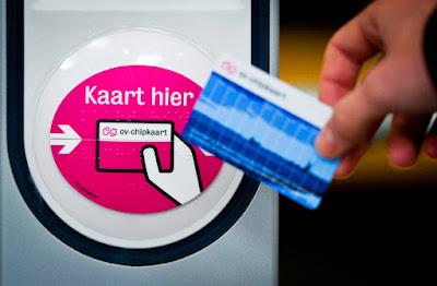 ov-chipkaart transporte publico rotterdam holanda