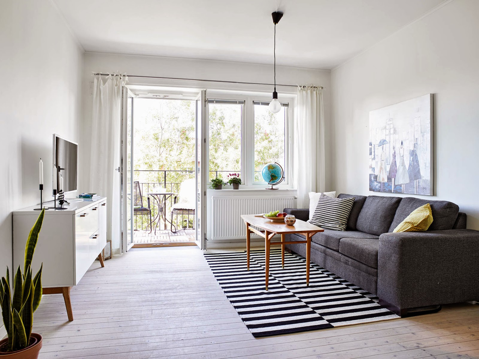 interior scandi living