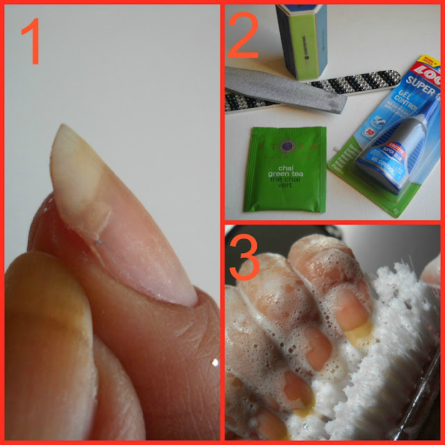 Addicted to OPI-yum: DIY Nail Repair - How to Fix A Broken Nail