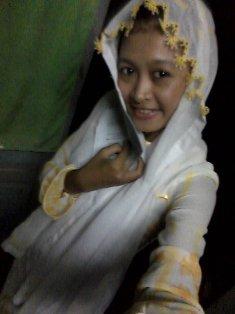 Khotichah in Cham Chau Doc's hijab