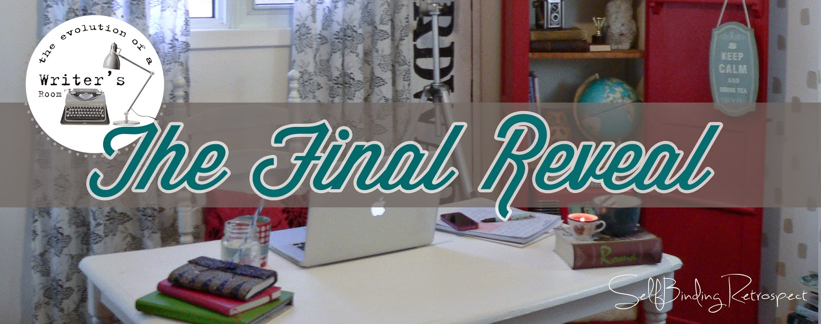 The evolution of a writer's room - the final reveal - SelfBinding Retrospect by Alanna Rusnak
