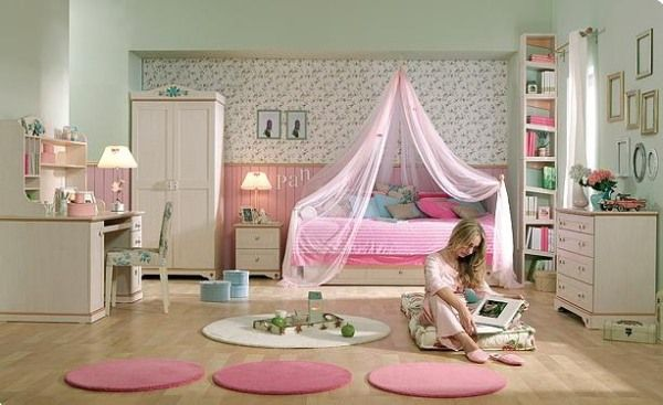 Teenage Girls Room Design Ideas