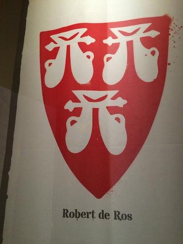 Chuck and Lori's Travel Blog - The Standard of Baron Robert de Ros