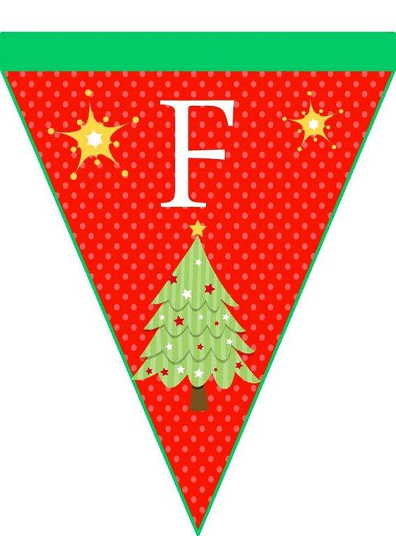 Menta m s chocolate recursos y actividades para educaci n infantil banderines de navidad - Sobre de navidad para imprimir ...