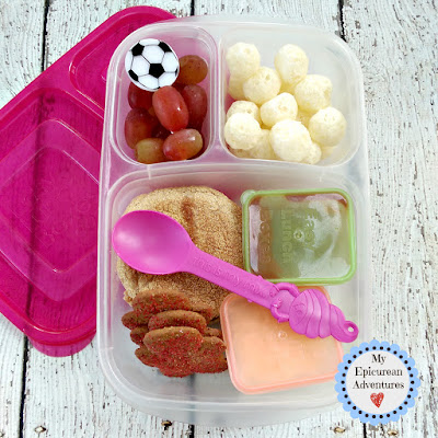My Epicurean Adventures: Lunch Box Fun 2015-16: Week #17-18. Lunch box ideas, school lunch ideas, lunches, pizza lunchables