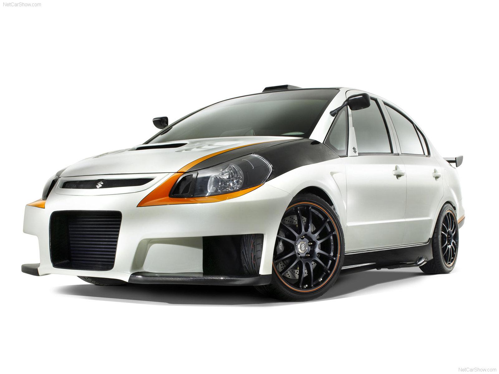 Hình ảnh xe ô tô Suzuki SXForce Concept 2008 & nội ngoại thất