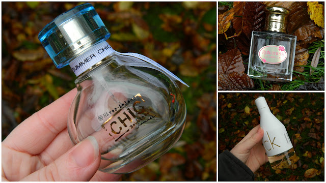 November Empties: Fragrance