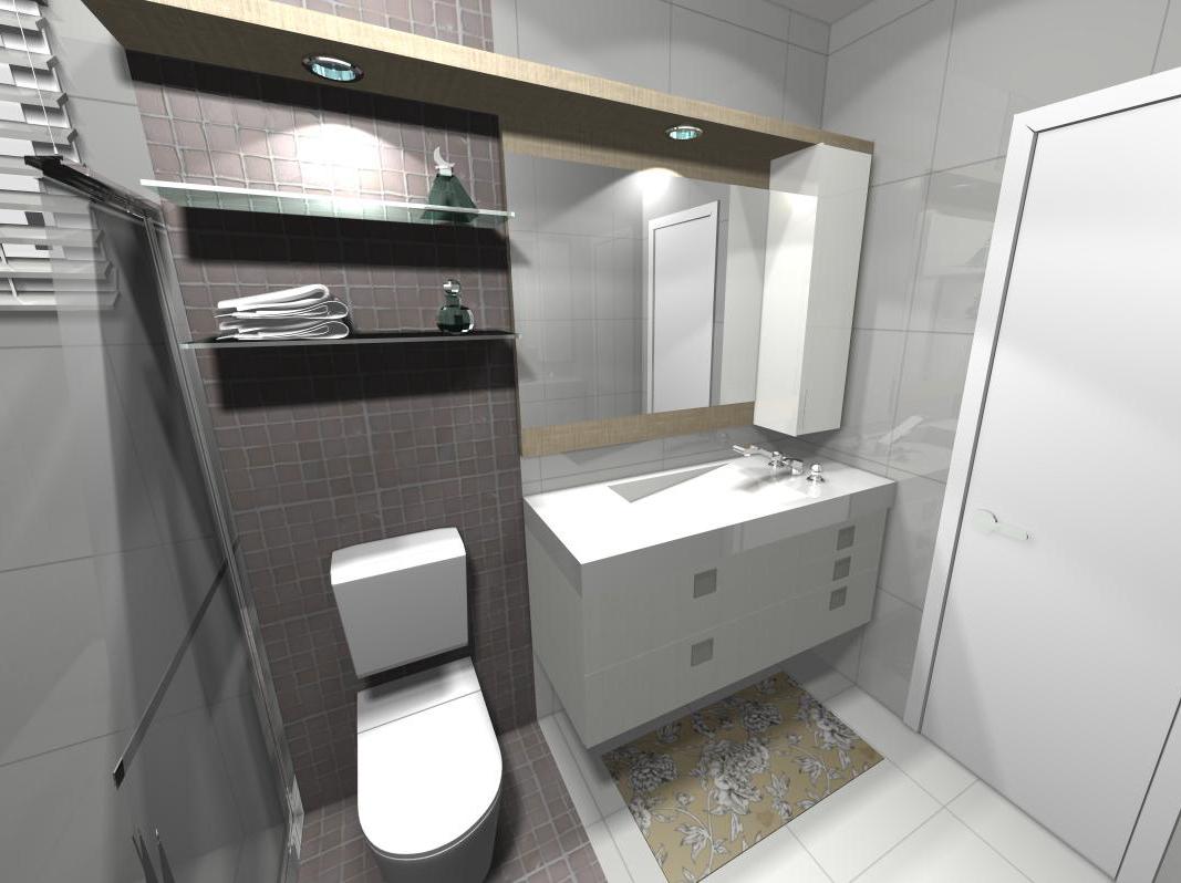Arquitetura & Design de Interiores Dani Martins: Banheiros #547777 1067 798