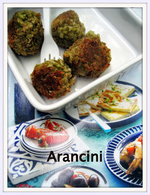 arancini, tapas, food to go
