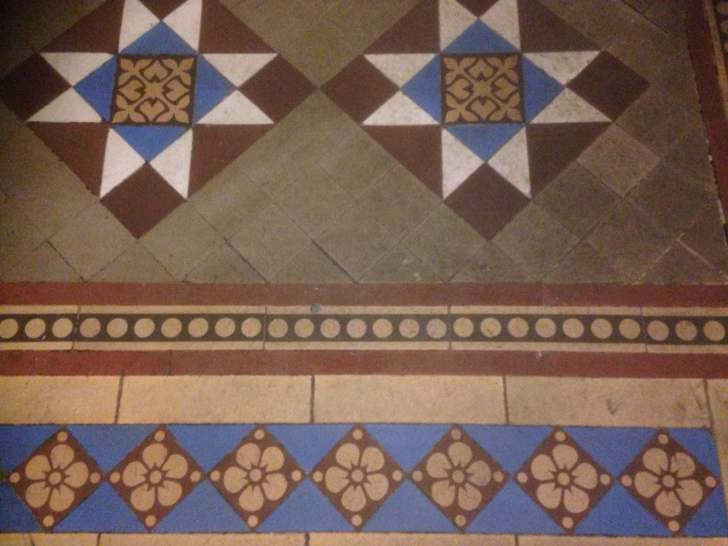 Victorian Tile Flooring Cleaning And Sealing Stone Floor Cleaning