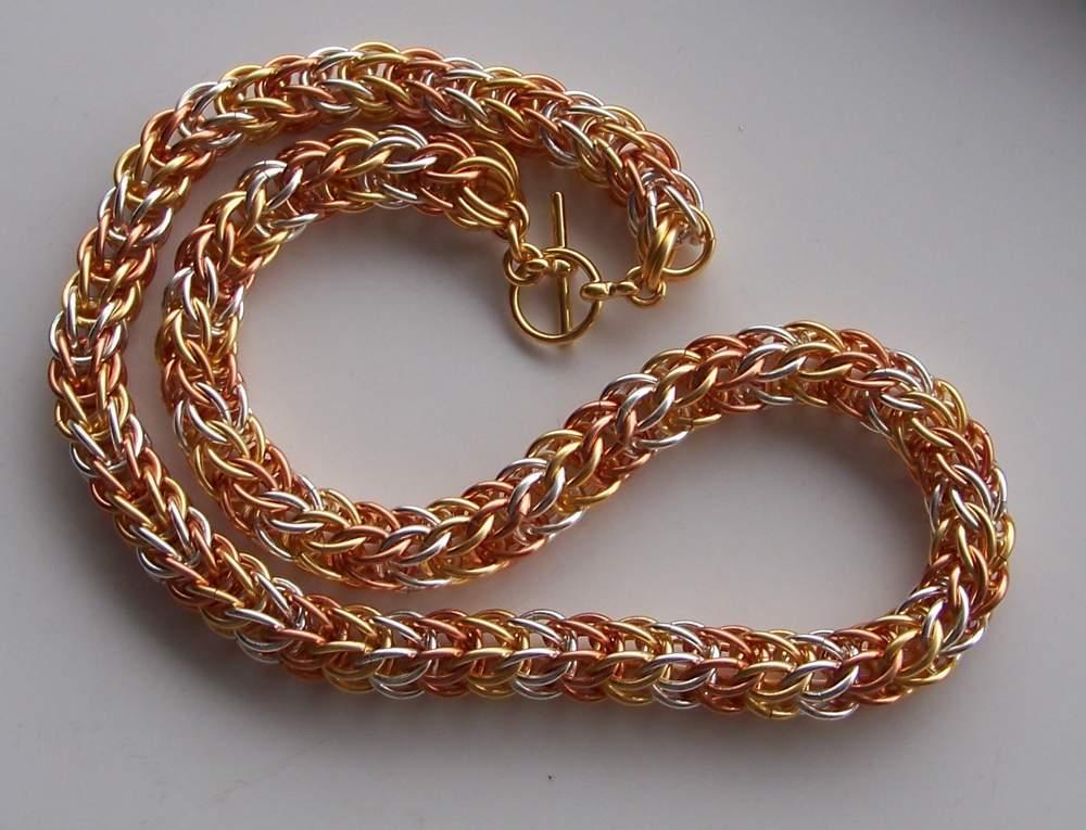 Плетение из колец своими руками 891