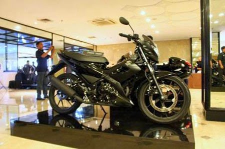 Suzuki Satria F150 Black Edition