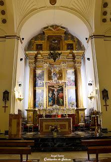Cristo de Chircales en el altar