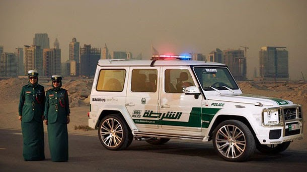 Now Dubai Police Own 700 HORSEPOWER MERCEDES-BENZ G63 AMG