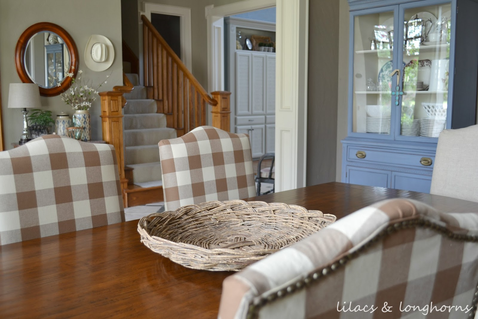 Reupholstered Dining Room Chairs From Julie At Lilacs Longhorns
