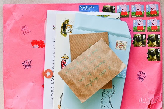 Snail mail letter from We♥Mail project