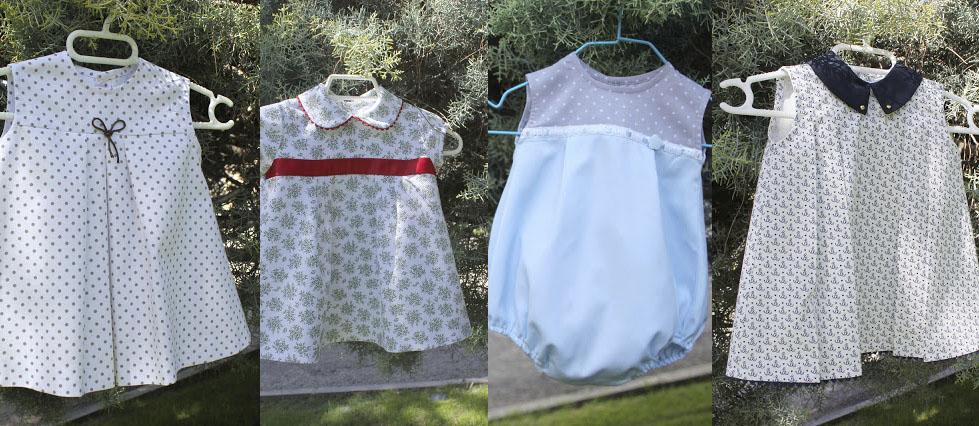 Cómo hacer ropa para bebés, patrones de vestidos para niños y niñas ...