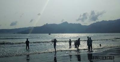 jalan ke pantai sidem tulungagung