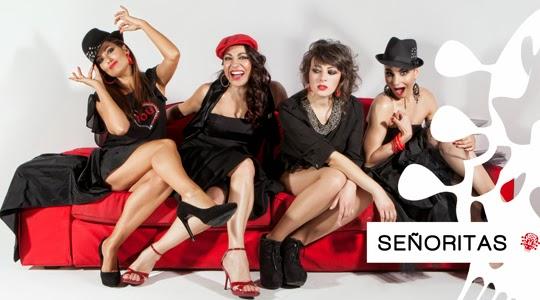 Señoritas on fire