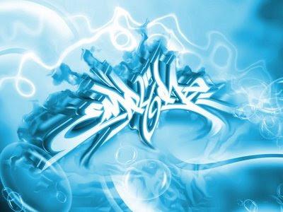 cool_blue_3D_digital_arrow_graffiti_alphabet
