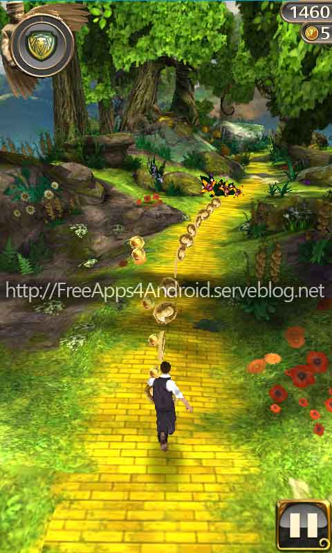 how to play temple run oz