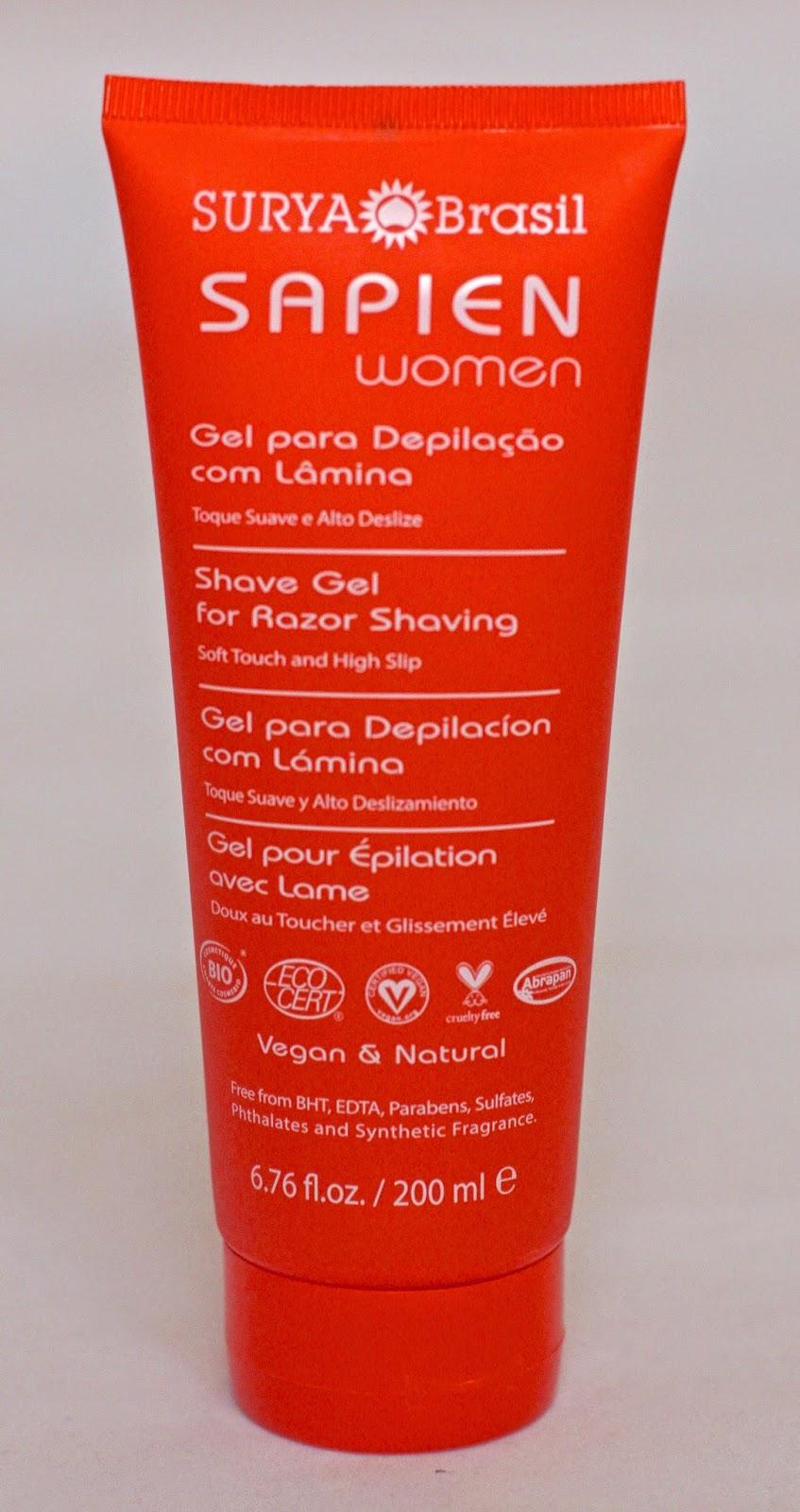 Surya Brasil SAPIEN Women Shave Gel