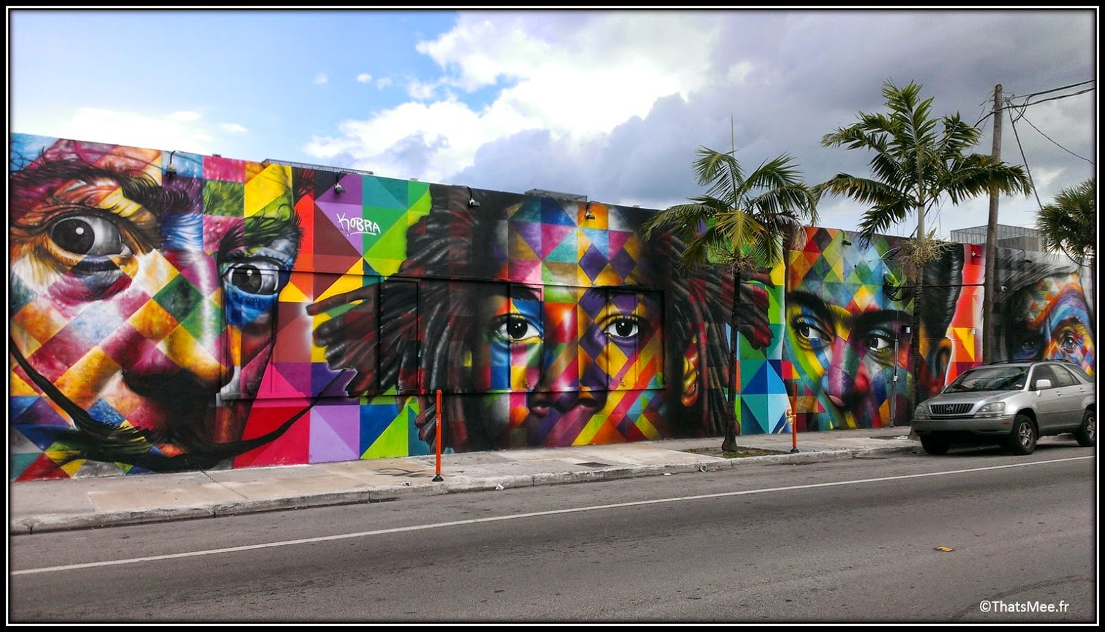 Dali, Basquiat, Warhol... Wynwood Art District, Miami