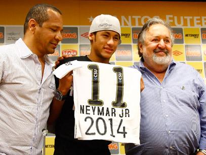Neymar e LAOR pelo Santos