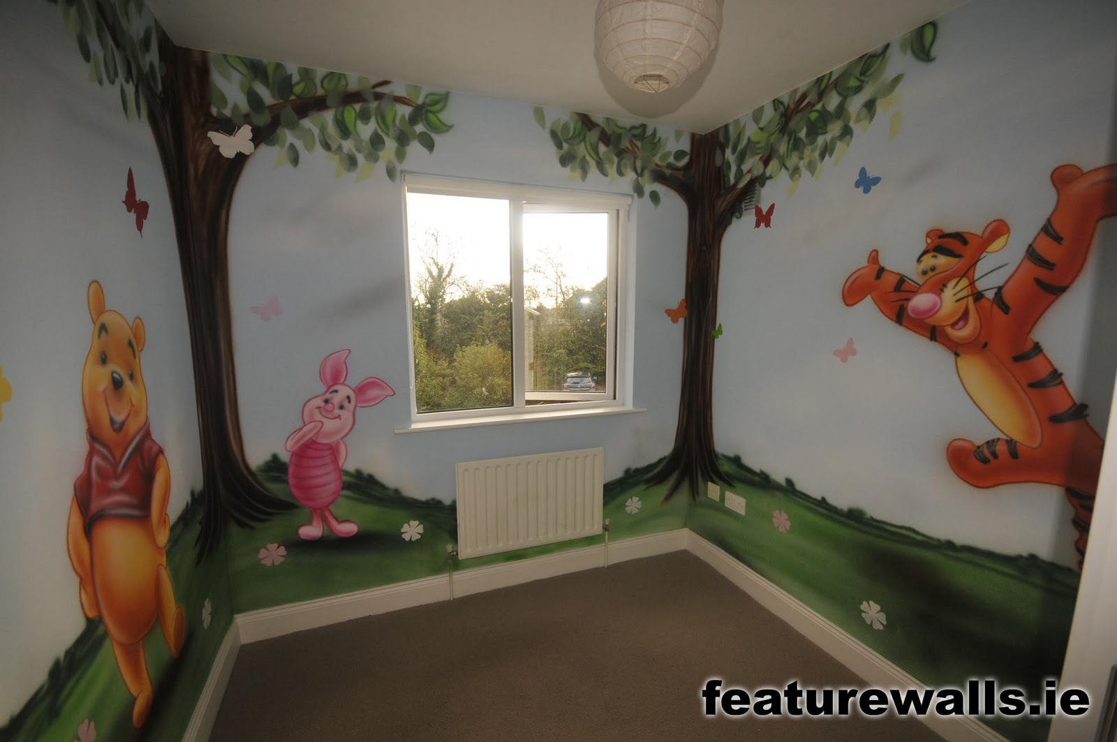 Hand painted wall murals kids room rachael edwards for Childrens room mural