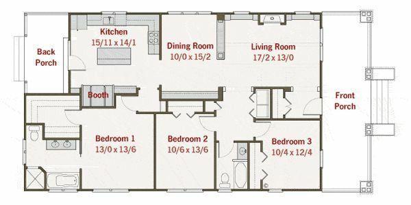 Planos de casas modelos y dise os de casas planos de for Diseno de casa de 7 x 17