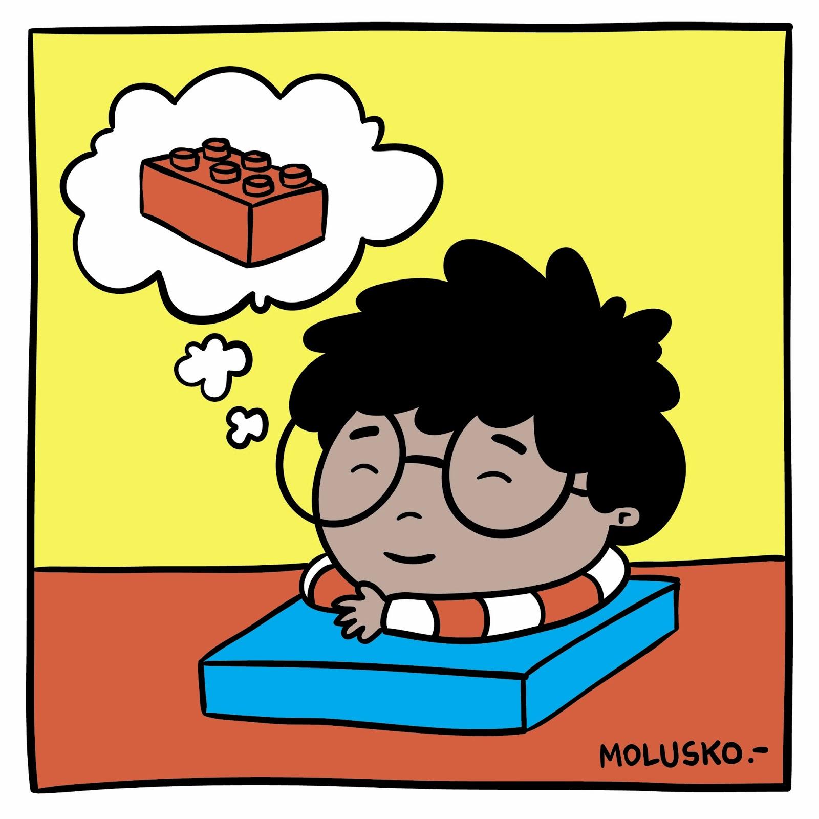 Un niño pensando en caricatura - Imagui