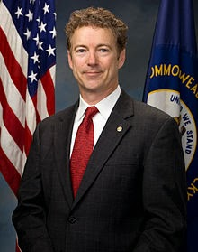 Wikipedia photo of Rand Paul