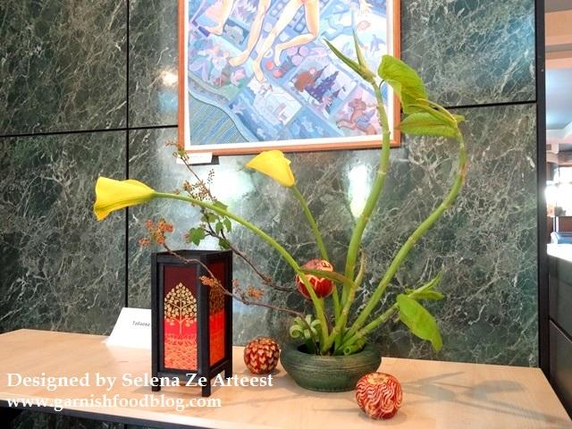 thai ikebana show