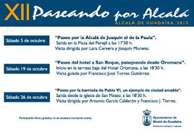 Paseando por Alcalá