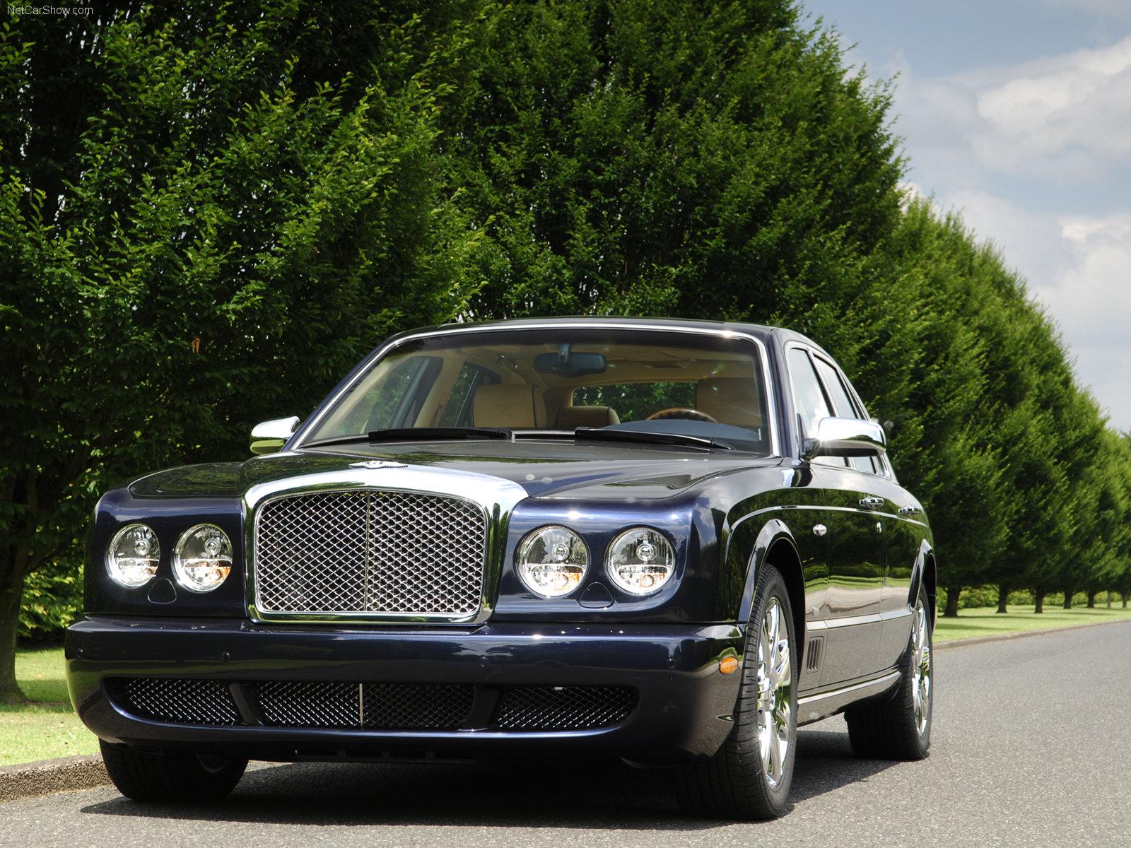 Hình ảnh xe ô tô Bentley Arnage Blue Train Series 2005 & nội ngoại thất